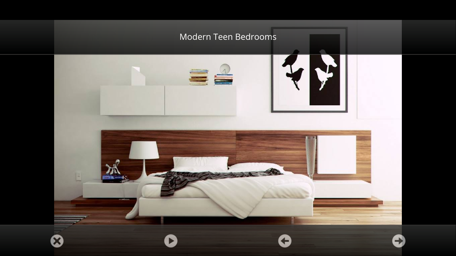 Modern bedroom wall decorating ideas - Bedroom Decorating Ideas Screenshot