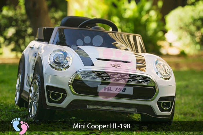 Xe oto điện trẻ em Mini Cooper HL-198 7