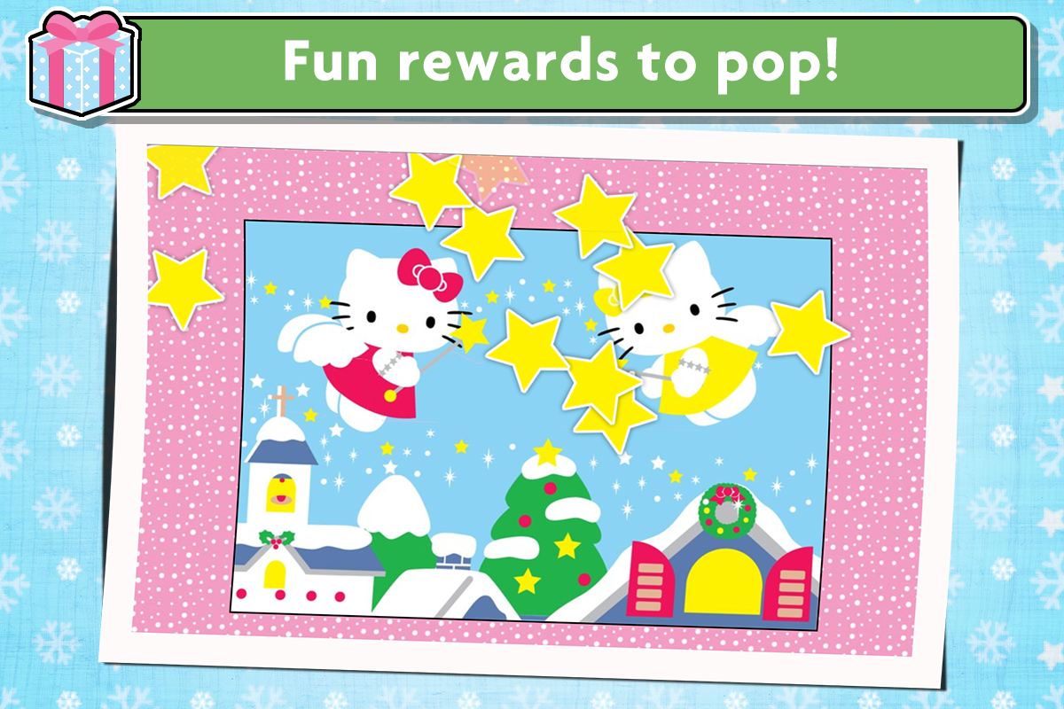 Uncategorized Games Puzzle Hello Kitty hello kitty christmas puzzles games for kids android apps screenshot