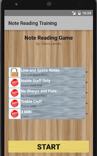 Note Reading Training FULL