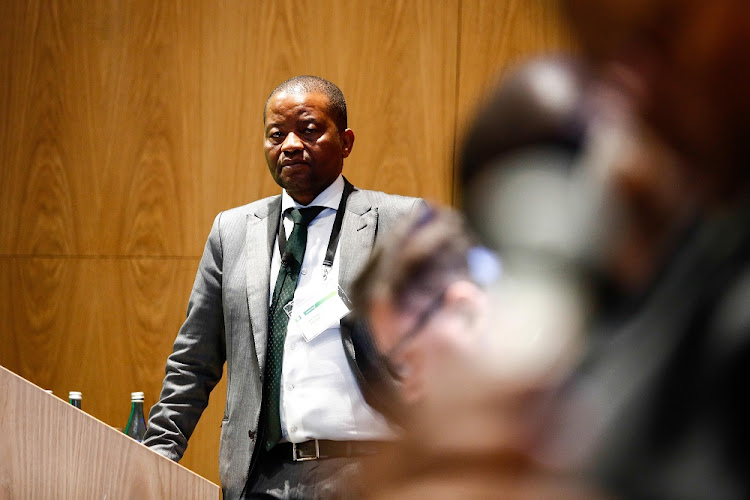 Axed Old Mutual CEO Peter Moyo.