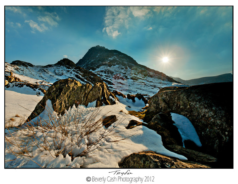 Photo: Finally got some winter!! This was last Thursday. Snowed all night Tuesday and all day Wednesday...must have had about a foot of snow at my house... finally I said!! I got out for a sunrise Thursday morning...hard for me, but knew it was going to surely be my last chance for snow this winter. Later headed here to Tryfan. Didn't trek far as was quite deep, stepping knee deep in places, so didn't try to get up the hill along either the streams I like. But the rocks and snow was well enough I suppose and along Llyn Ogwen, was just chuffed to bits to have some snow!  I felt a bit guilty knowing +Steve Gill was hoping for snow while he was out last month :(  Thanks for looking and hope everyone's well