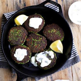 Broccoli Cheddar Fritters.