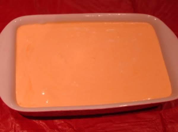 Orange Jello Creme Cake Aka Cremesicle Cake