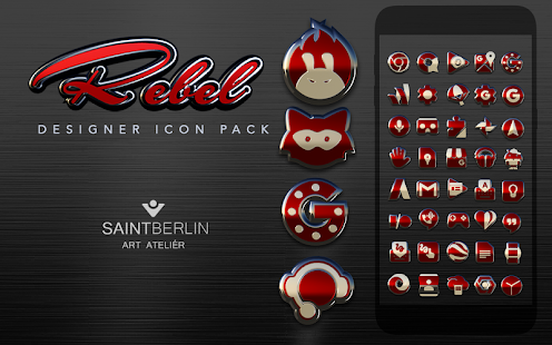 Rebel Icon Pack Screenshot