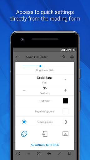 FullReader – e-book reader 4.0.7 screenshots 7