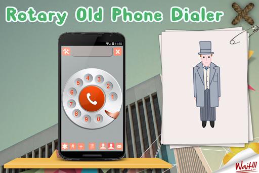 Rotary Old Phone Dialer Keypad