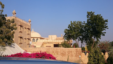 Photo: our hotel in jaisalmer, about 2 km away from old city centre