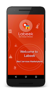 Labeek home service on demand- screenshot thumbnail