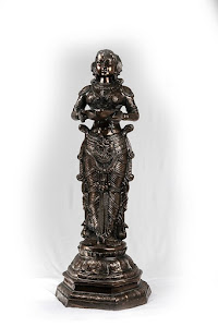 Brass Praying Lady