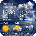 Thunderstorm Weather Widget icon
