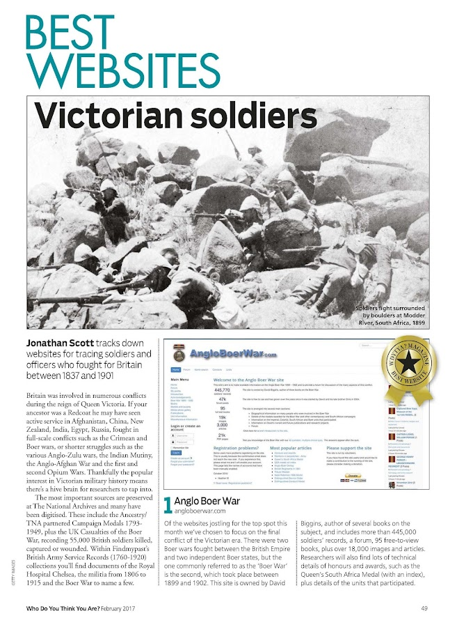 Who do You Think You Are? Magazine- screenshot