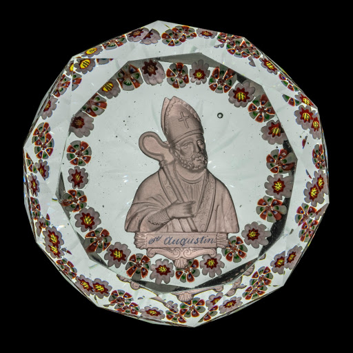 Saint Augustine Sulphide Paperweight