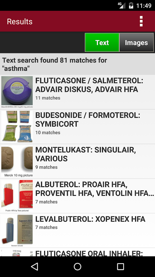 Top 300 Drug Cards 2016/2017- screenshot