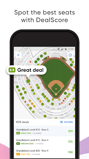 SeatGeek – Tickets to Sports, Concerts, Broadway screenshot 1