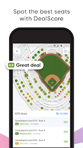 SeatGeek – Tickets to Sports, Concerts, Broadway 1