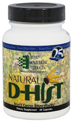 Ortho Molecular Natural D-Hist - 40 Capsules