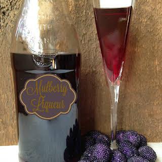 Mulberry Liqueur.
