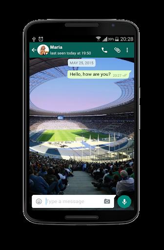 Soccer Messenger Wallpaper