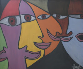 Photo: Visage4' x 5'2005Oil on Canvas