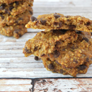 Pumpkin Chocolate Chip Cookies – Gluten-free & Vegan Option