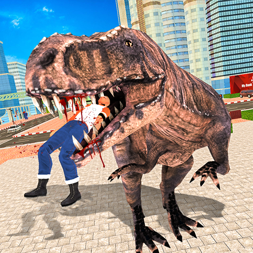 Wild Dinosaur Simulator City Attack file APK for Gaming PC/PS3/PS4 Smart TV
