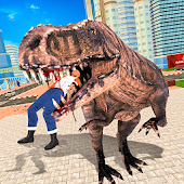 Wild Dinosaur Simulator City Attack