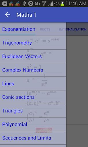 Maths 1 PRO