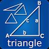 Triangle rectangle angle calc
