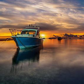 Good morning by Ade Irgha - Transportation Boats ( bali, semawang, sanur, boat, airimagebali )