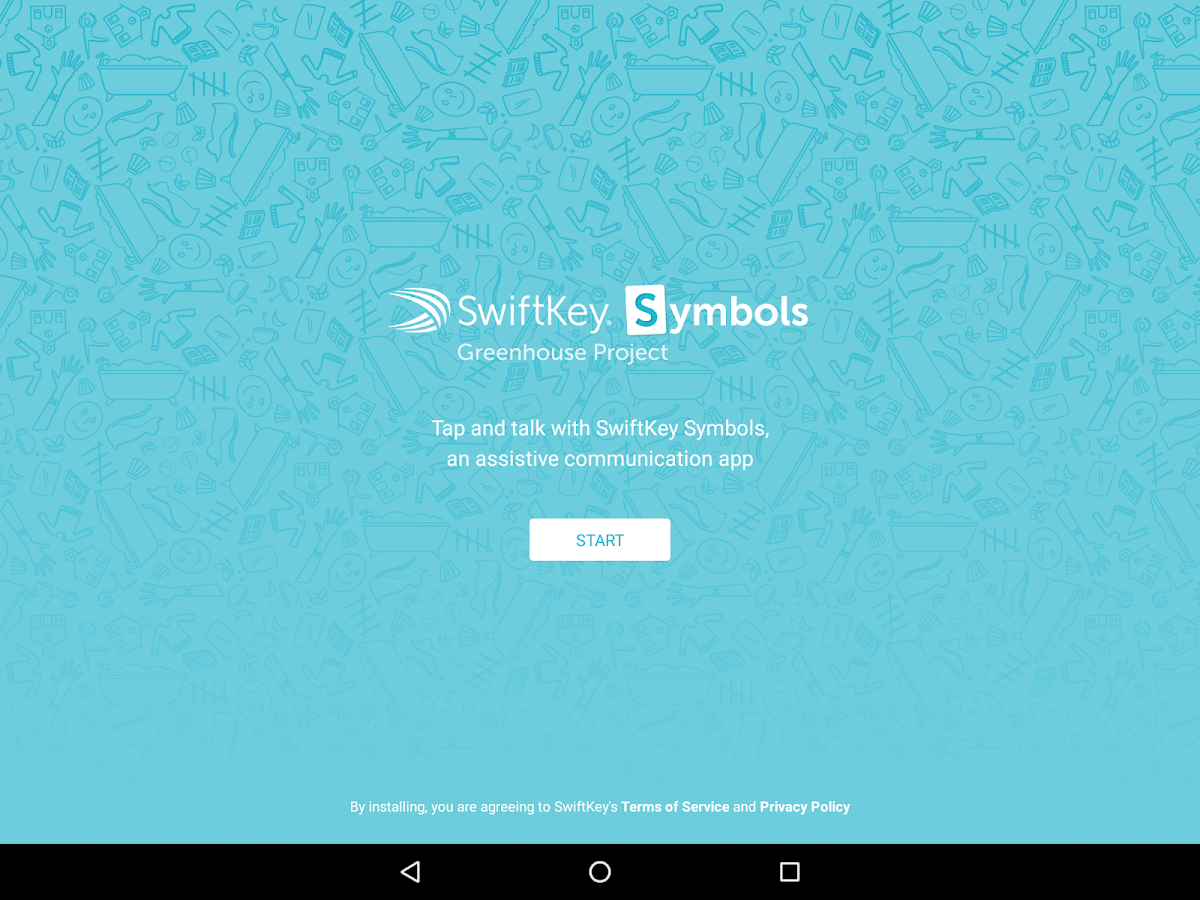 SwiftKey Symbols- screenshot