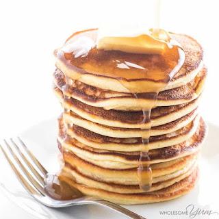 Coconut Flour Pancakes Recipe (Cream Cheese Pancakes with Coconut Flour).