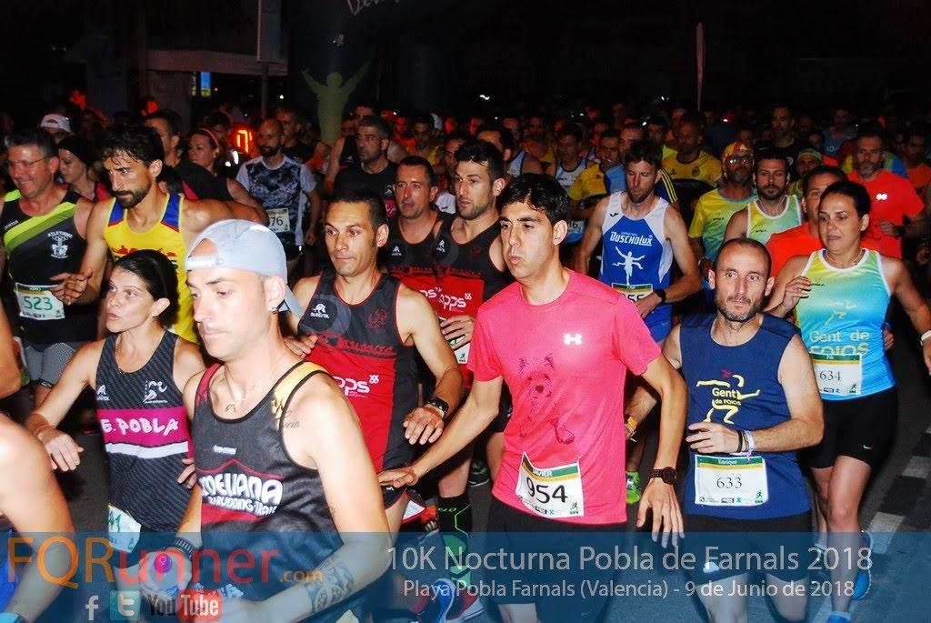 Fotos 10K Nocturna Pobla de Farnals 2018