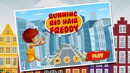 Running Red Hair Freddy
