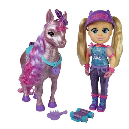 LOVE DIANA HORSE SET FEATURE DOLL