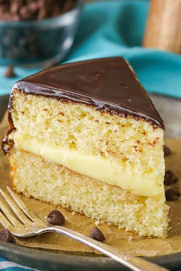 Easy Boston Cream Pie Recipe