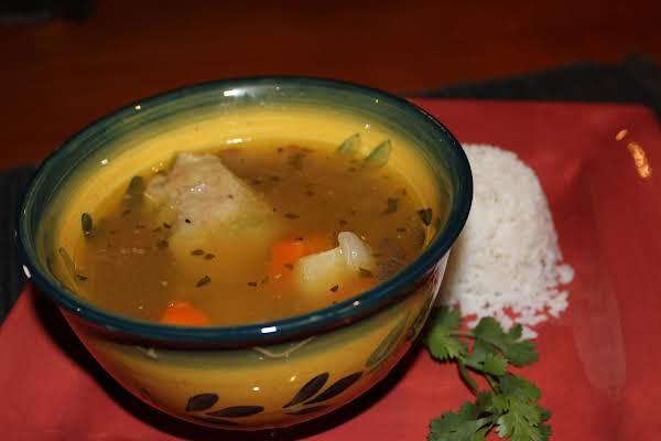 Bahamian Chicken Souse (soup) Recipe