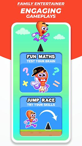 Chicken Leg Piece - Fun Race Multiplayer apktram screenshots 6
