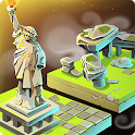 Merge World 2048 - City Build Civilization Games icon