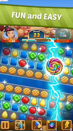Candy Sweet Story: Candy Match 3 Puzzle 72 screenshots 3