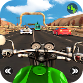 Traffic Moto Rider - Bike Street Racer 3D Android APK Download Free By FingerTouch Games