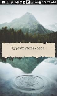 TypeWriters _Voice - náhled