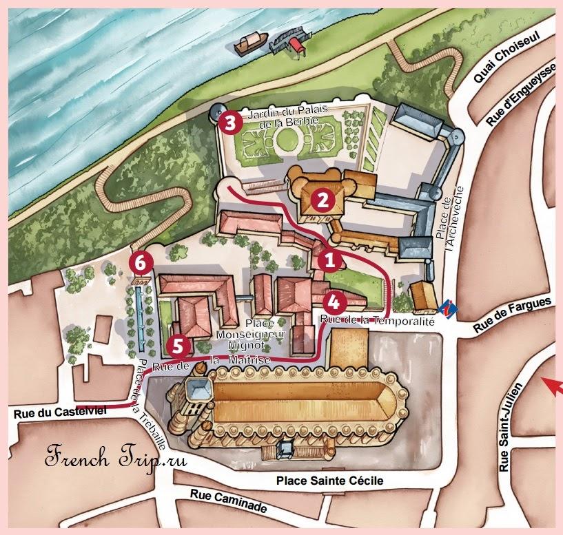 Маршрут по Альби: кварталы Castelviel - Castelnau – Bourg Saint-Salvi