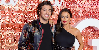 Amber Davies is back with ex-boyfriend