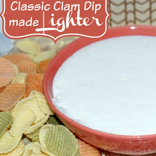 Classic Clam Dip Recipe Made Lighter