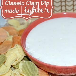 Classic Clam Dip Recipe Made Lighter