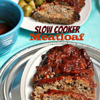 Slow Cooker / Crockpot Meatloaf
