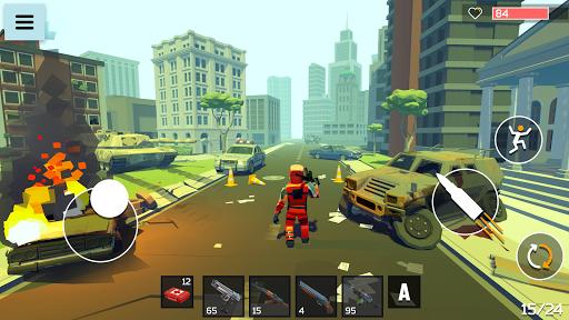 4 GUNS: 3D Pixel Shooter 0.10b de.gamequotes.net 1
