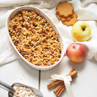 Apple Gingerbread Crumble.