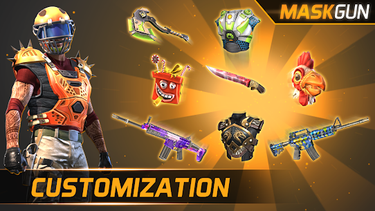 MaskGun ® – Multiplayer FPS 2.172 MOD (Unlimited Ammo) 4